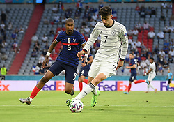 MUNICH, GERMANY - JUNE 15:  during the UEFA Euro 2020 Championship Group F match between France and Germany at Football Arena Munich on June 15, 2021 in Munich, Germany. (Photo by Sebastian Widmann - UEFA)