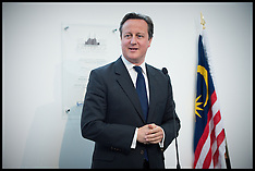 Prime Ministers of UK and Malaysia at Battersea Power Station