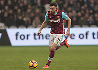 Football - 2016 / 2017 Premier League - West Ham United vs. West Bromwich Albion<br /> <br /> Robert Snodgrass of West Ham at the London Stadium.<br /> <br /> COLORSPORT/DANIEL BEARHAM
