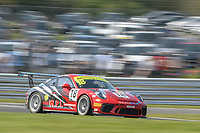 #18 Michael Igoe / Adam Wilcox WPI Motorsport Porsche 911 GT3 Cup Pro/Am GTC  during British GT Championship race one as part of the British F3 / GT Championship at Oulton Park, Little Budworth, Cheshire, United Kingdom. April 22 2019. World Copyright Peter Taylor/PSP. Copy of publication required for printed pictures.