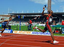 01-07-2007 ATLETIEK: NK OUTDOOR: AMSTERDAM<br /> Gregory Sedoc - aa drink<br /> ©2007-WWW.FOTOHOOGENDOORN.NL