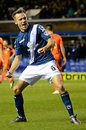 Birmingham City midfielder Maikel Kieftenbeld  celebrates goal during the Sky Bet Championship match between Birmingham City and Ipswich Town at St Andrews, Birmingham, England on 23 January 2016. Photo by Alan Franklin.