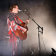 WASHINGTON, D.C. - November 9th, 2010: Sigur Rós  guitarist and vocalist Jónsi performs a solo concert at the 9:30 Club. Jonsi released Go, his first solo album, earlier this year.   (Photo by Kyle Gustafson/For The Washington Post)