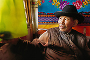 Bat Baator, an old Mongolian man, talks about the old days during soviet occupation.