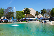 Peace Lake Fountain and Recreation Center During the 18th International Festival