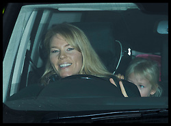 December 20, 2017 - London, London, United Kingdom - Image licensed to i-Images Picture Agency. 20/12/2017. London, United Kingdom. Autumn Phillips arriving for The Queen's Christmas lunch at Buckingham Palace in London. (Credit Image: © Stephen Lock/i-Images via ZUMA Press)