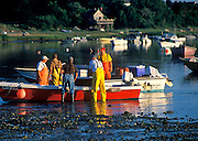 Lobsterman preparing to go out, Roberts Cove, Orleans, Cape Cod