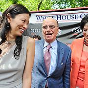 Wendi Deng, Rupert Murdoch and Tammy Haddad
