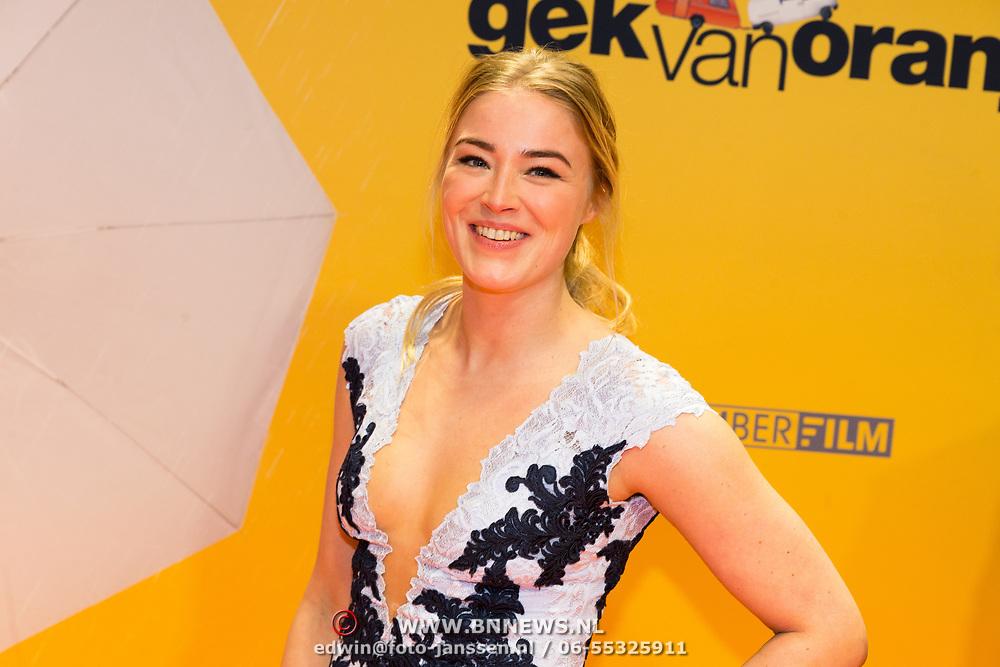NLD/Amsterdam/20180212 - Premiere Gek op Oranje, Geraldine Kemper