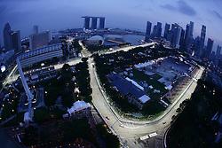 FORMEL 1: GP von Singapur, Singapur, 25.09.2010<br /> Illustration, Rennstrecke<br /> © pixathlon