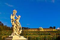 Statue, Sanssouci Palace, Sanssouci Park (a UNESCO World Heritage site), Potsdam, Germany
