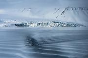 Ocean surface<br /> Svalbard<br /> Norway<br /> Arctic Ocean