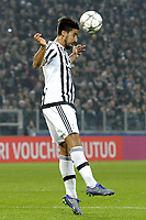 Sami Khedira Juventus,<br /> Torino 23-02-2016 Juventus Stadium Football Calcio Champions League 2015/2016 Round of 16 Juventus - Bayern Monaco Foto Filippo Alfero / Insidefoto
