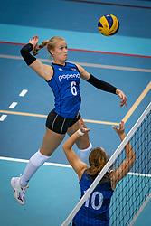 Iris Vos of Team22 in action during the league match Draisma Dynamo vs. Team22 on october 10, 2021 in Omnisport Apeldoorn, Apeldoorn