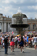 Vatican City, Rome, Italy St. Pietro (St Peter's) square