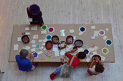 Interactive Art Activity. Yale Center for British Art Undergraduate Open House '12