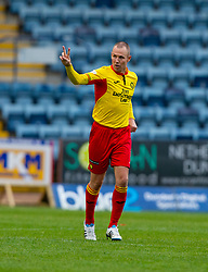 Partick Thistle's Kenny Miller celebrates after scoring their first goal. Dundee 1 v 3 Partick Thistle, Scottish Championship game player 19/10/2019 at Dundee stadium Dens Park.