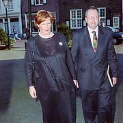 NLD/Naarden/19990406 - Mattheus Passion 1999, Annemarie Jorritsma - Lebbink en haar man Gerlof