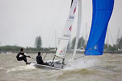 08_004246 © Sander van der Borch. Medemblik - The Netherlands,  May 25th 2008 . Final day of the Delta Lloyd Regatta 2008.