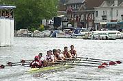 ©  SportsBeat Images  020 8 876 8611<br /> email images@sportsbeat.co.uk<br /> Photo Peter Spurrier<br /> 04/07/2002 - Fri<br /> Sport - Rowing- Henley Royal Regatta<br /> 2002_HRR<br /> Temple Challege Cup<br /> Bucks - Harvard University BC and University of London 20020703 Henley Royal Regatta, Henley, Great Britain