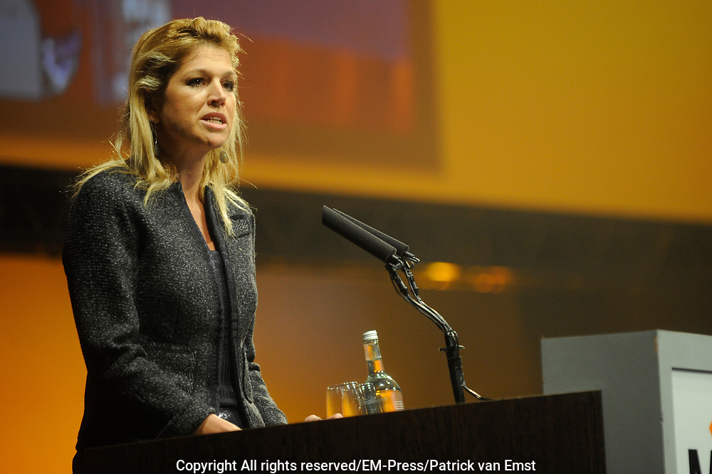 Jaarcongres van MKB-Nederland in het World Forum, Den Haag . // MKB Annual Congress n the World Forum, The Hague.<br />
