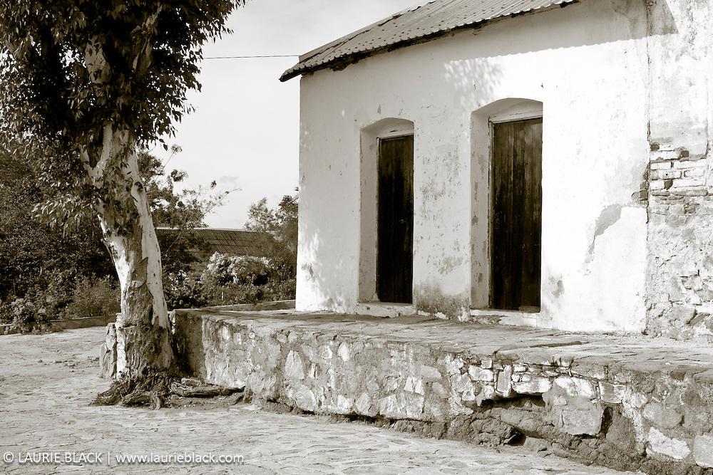 Old  Baja building