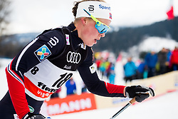 January 6, 2018 - Val Di Fiemme, ITALY - 180106 Anne Kjersti KalvÅ' of Norway competes in women's 10km mass start classic technique during Tour de Ski on January 6, 2018 in Val di Fiemme..Photo: Jon Olav Nesvold / BILDBYRN / kod JE / 160122 (Credit Image: © Jon Olav Nesvold/Bildbyran via ZUMA Wire)