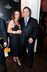 JONATHAN SHALIT and KATRINA SEDLEY at the presentation of the Veuve Clicquot Business Woman Award 2010 held at the Institute of Contemporary Arts, 12 Carlton House Terrace, London on 23rd March 2010.  The winner was Laura Tenison - Founder and Managing Director of JoJo Maman Bebe.
