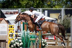 Sebrechts Max, BEL, Kilmullen Olympic Cruise<br /> Belgisch Kampioenschap Ponies 2017<br /> Youth Festival - Azelhof - Lier 2017<br /> © Dirk Caremans<br /> Sebrechts Max, BEL, Kilmullen Olympic Cruise