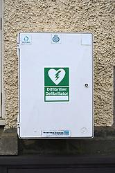 Public defibrillator, Wales
