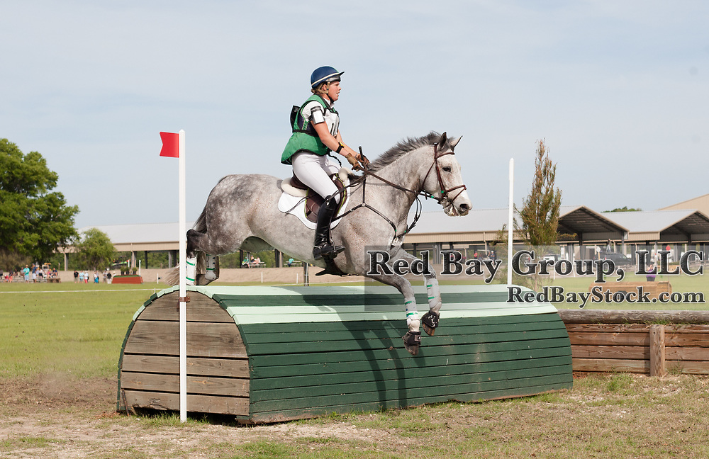 Kylie Lyman and Cooley Ice at the Ocala International in Ocala, Florida.
