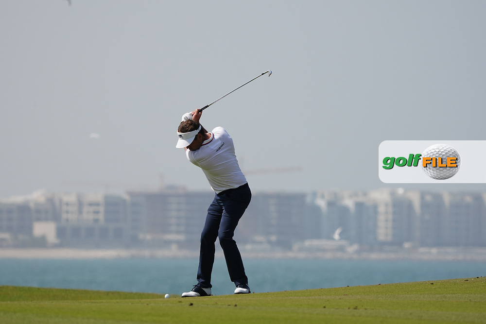 Robert Rock (ENG) on the 9th during Round 3 of the Oman Open 2020 at the Al Mouj Golf Club, Muscat, Oman . 29/02/2020<br /> Picture: Golffile | Thos Caffrey<br /> <br /> <br /> All photo usage must carry mandatory copyright credit (© Golffile | Thos Caffrey)
