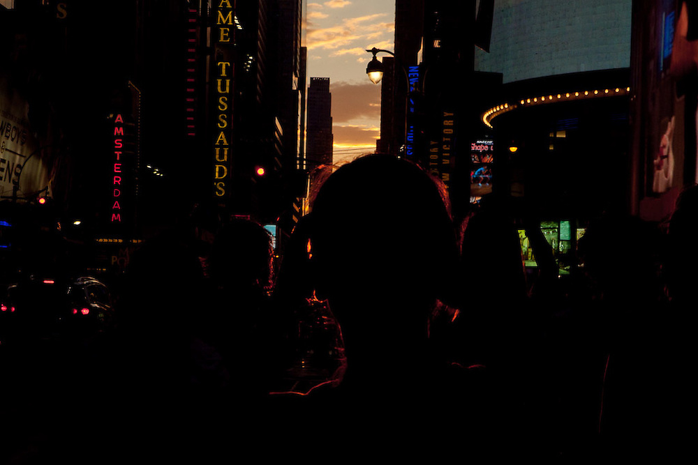 Manhattanhenge July 13 2011