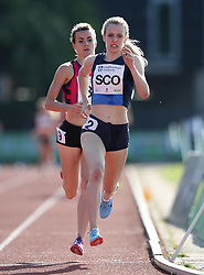 Jemma Reekie in the 1500m during the Loughborough International Athletics Meeting at the Paula Radcliffe Stadium, Loughborough. PRESS ASSOCIATION Photo. Picture date: Sunday May 20, 2018. See PA story ATHLETICS Loughborough. Photo credit should read: David Davies/PA Wire.
