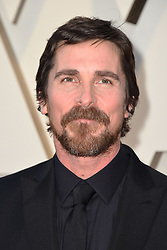 Christian Bale walking the red carpet as arriving to the 91st Academy Awards (Oscars) held at the Dolby Theatre in Hollywood, Los Angeles, CA, USA, February 24, 2019. Photo by Lionel Hahn/ABACAPRESS.COM