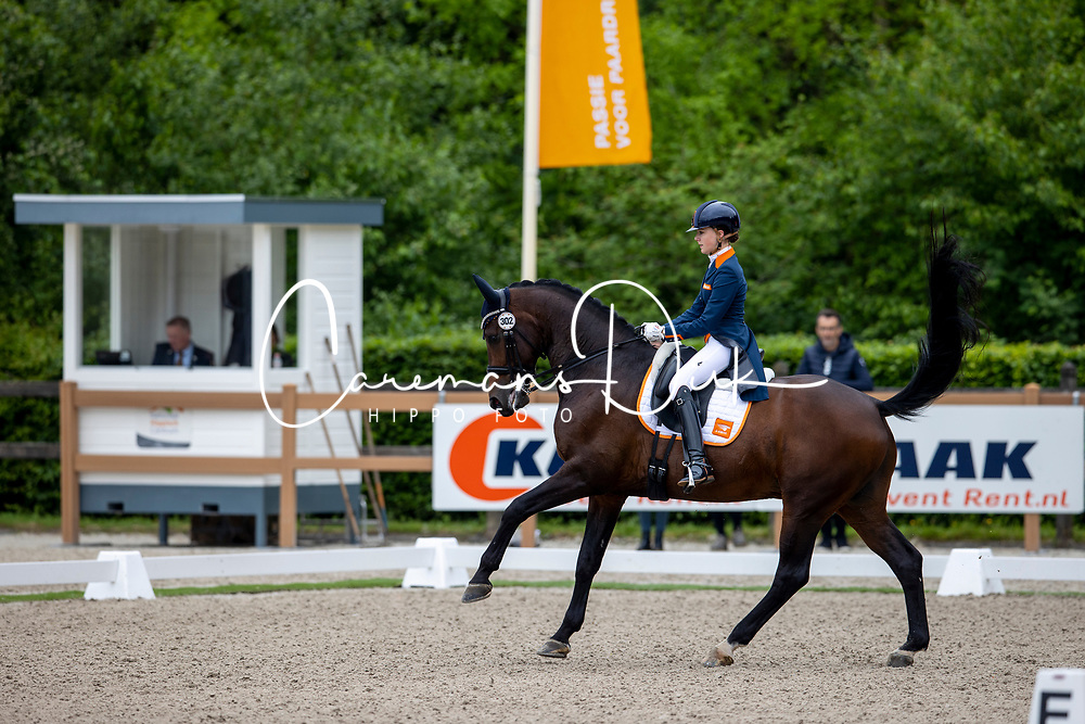 Van Rooij Evi, NED, Don Tango B<br /> Nederlands Kampioenschap<br /> Ermelo 2021<br /> © Hippo Foto - Dirk Caremans<br />  06/06/2021