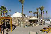 Hamat Tverya National Park is an ancient archaeological site and an Israeli national park, On the shore of the Sea of Galilee, Tiberias, Israel