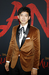 Jimmy Wong at the World premiere of Disney's 'Mulan' held at the Dolby Theatre in Hollywood, USA on March 9, 2020.