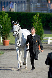 Dibowski Andreas (GER) - Ginger<br /> European Championship Eventing - Pau 2001<br /> Photo © Dirk Caremans