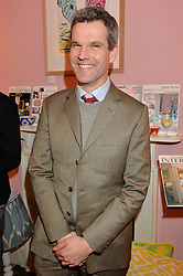 BEN PENTREATH at a party hosted by Melodi Horne & Pentreath & Hall at 17 Rugby Street, Bloomsbury, London on 12th February 2015.