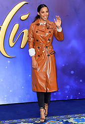 Rochelle Humes attending the Aladdin European Premiere held at the ODEON Luxe Leicester Square, London