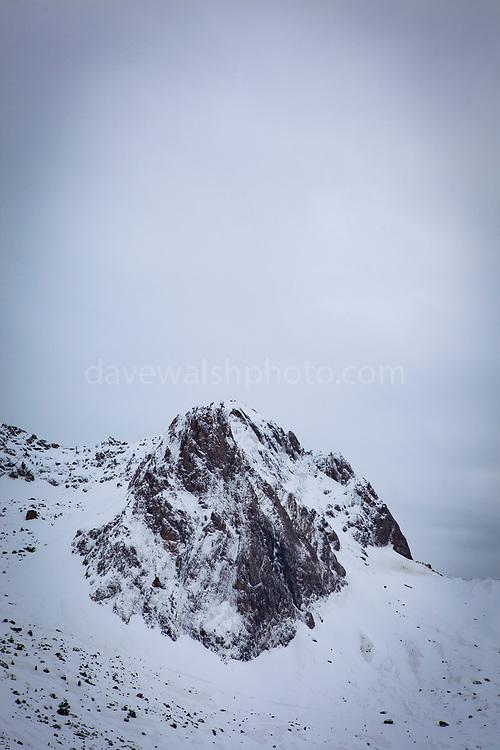 Mountain Landscapes, La Mongie ski resort,  Bagnères-de-Bigorre, France.