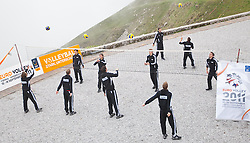 23.05.2011, Seegrube, Innsbruck, AUT, Tagung von Sports Media Austria 2011, Volleyball Team Österreich, im Bild das österreichische Volleyball Team during Sports Media Austria Congress, Volleyballteam Austria, Seegrube Innsbruck Austria on 23/5/2011. EXPA Pictures © 2011, PhotoCredit: EXPA/ J. Groder