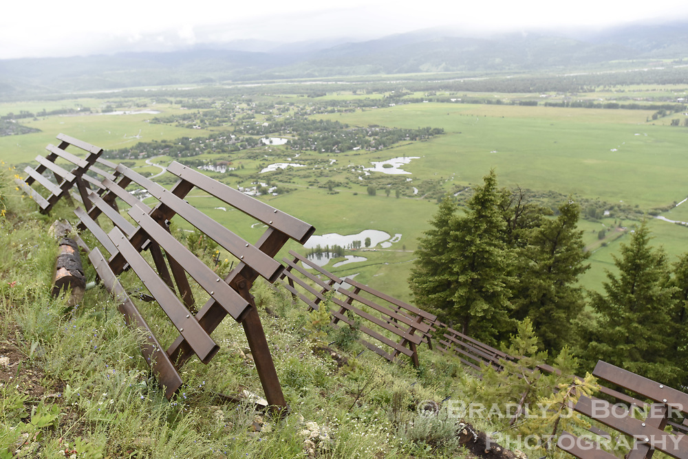 Evaluation of snow fences above mile marker 151 on S. Highway 28