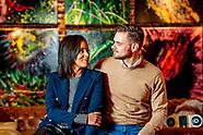 Ondernemer Mick de Vlieger en zijn vrouw Dyantha Brooks
