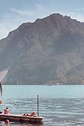 Madello del Lario, Lecco: sun bathing