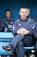 Photo: Lee Earle.<br /> Portsmouth v Manchester City. The Barclays Premiership. 11/03/2006. City manager Stuart Pearce.