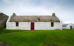 Easthouse Croft Heritage Centre at Papil, West Burra, Shetland, Scotland, UK