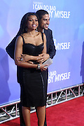 l to r: Taraji P. Henson and Adam Rodriguez at Tyler Perry's special New York Premiere of ' I Can Do Bad all By Myself ' held at the School of Visual Arts Theater on September 8, 2009 in New York City.