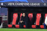 SEVILLE, SPAIN - DECEMBER 02: Frank Lampard of Chelsea FC during the UEFA Champions League Group E stage match between FC Sevilla and Chelsea FC at Estadio Ramon Sanchez-Pizjuan on December 2, 2020 in Seville, Spain. (Photo by Juan Jose Ubeda/MB Media)